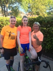Read more about the article Thank You to Clare, Anthony and Ruby for your Tri-Challenge!