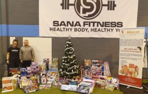 Read more about the article Huge Thank You to Sana Fitness!